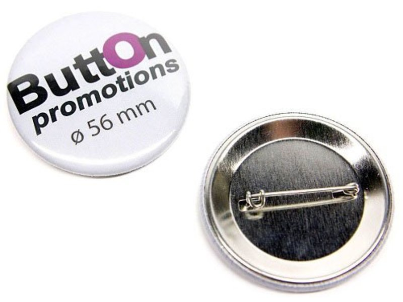 Button 56 mm