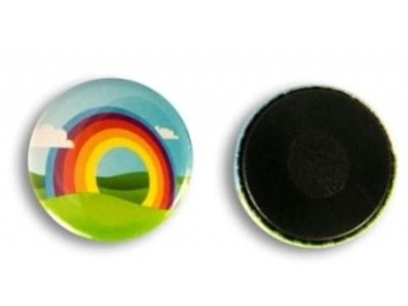Koelkastmagneet Button 25 mm