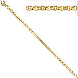 Erbskette (585) Gelbgold, 1,5 mm