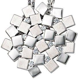 Anhänger 925 Sterling Silber mit Zirkonia