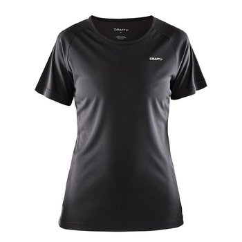 Craft Prime Run Tee dames zwart