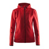 Craft Leisure Hood Full Zip vest dames rood
