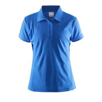 Craft Polo Pique dames blauw