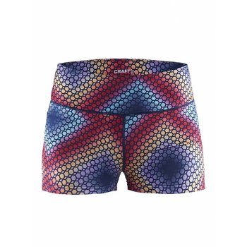 Craft Habit Print Hot Pants dames
