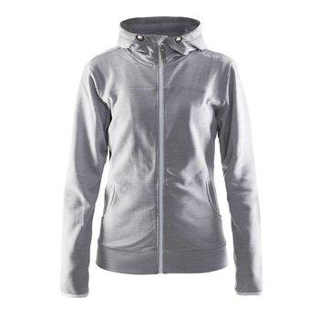 Craft Leisure Hood Full Zip vest dames  grijs