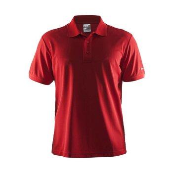Craft Polo Pique heren rood