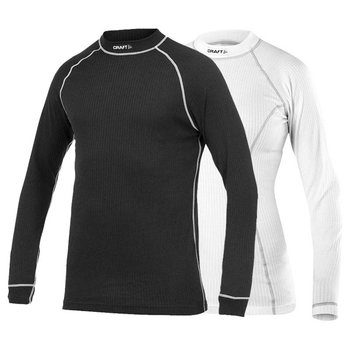 Craft Active Longsleeve 2-Pack Top dames zwart/wit