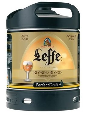 Leffe Blonde Fût 6L