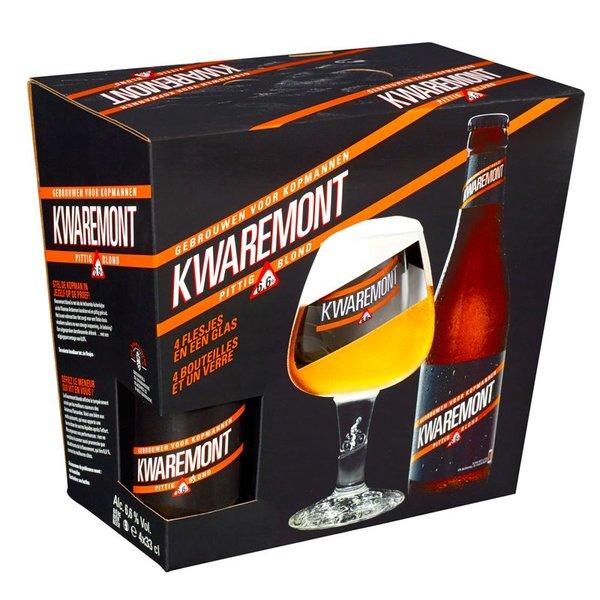 Brouwerij De Brabandere Kwaremont geschenkverpakking