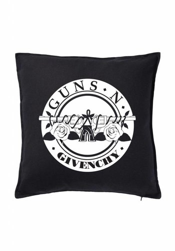 Guns Round Pillow