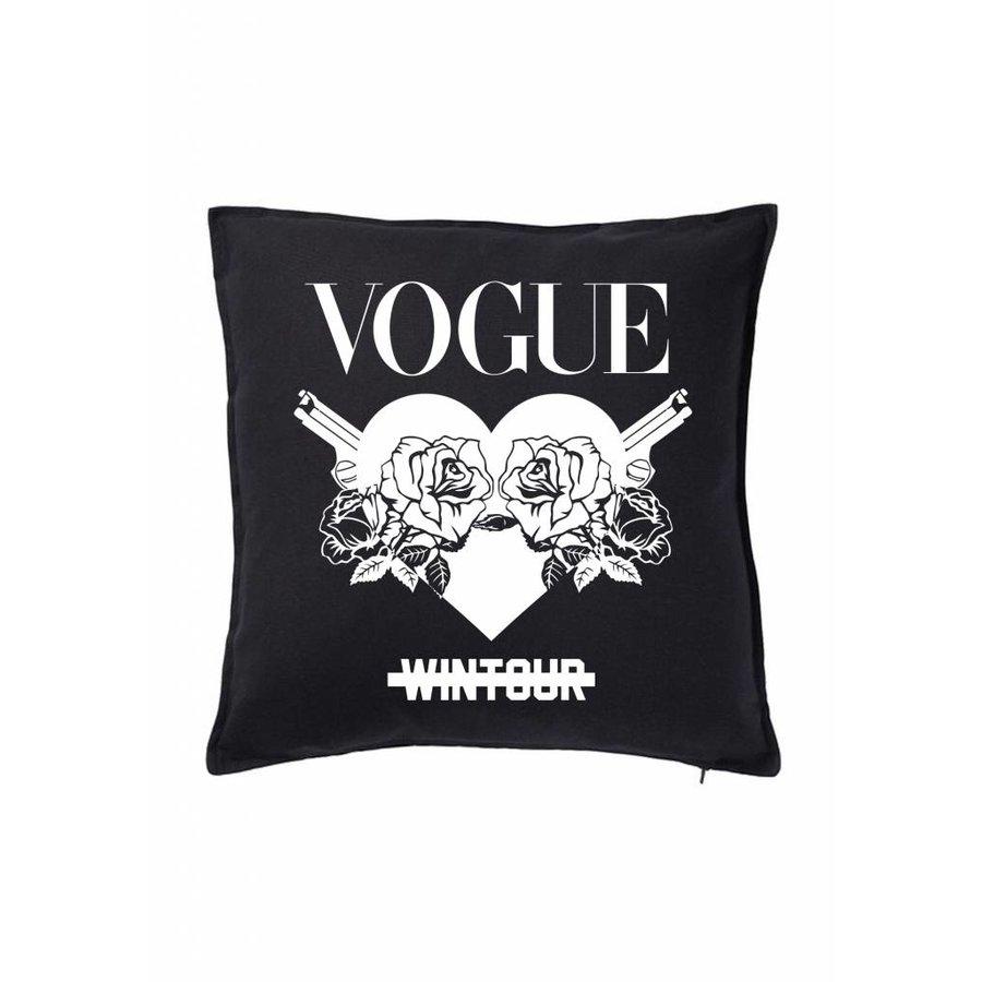 Wintour Heart Pillow