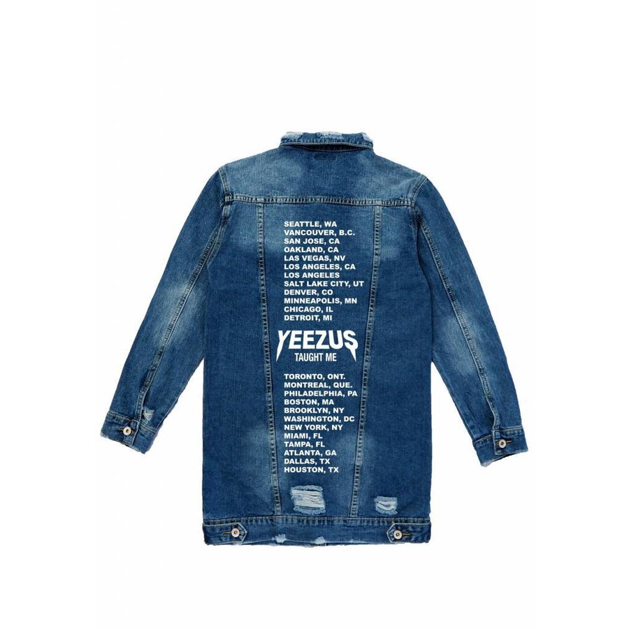 Taught Me Jeans Jacket
