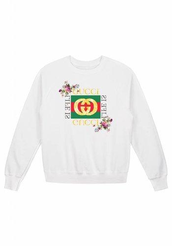 Flower Vintage Sweater