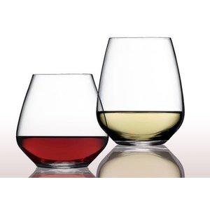 Luigi Bormioli Riesling Tocai wijnglas zonder steel Atelier