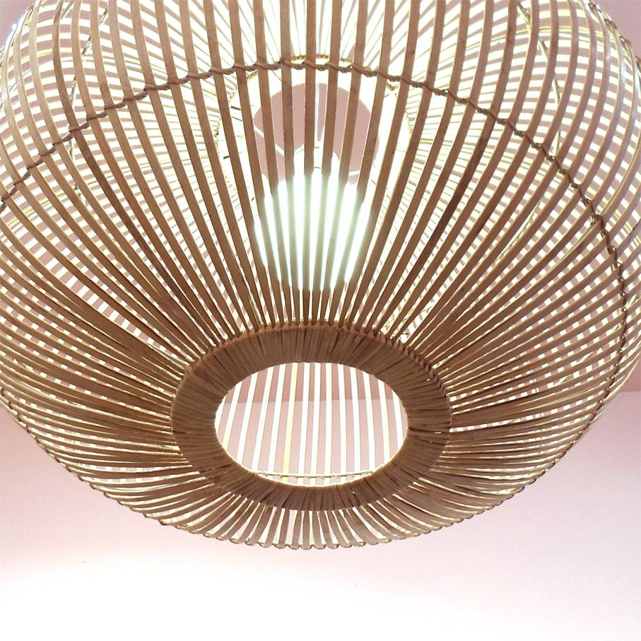 Pendant Light / Bamboo XL