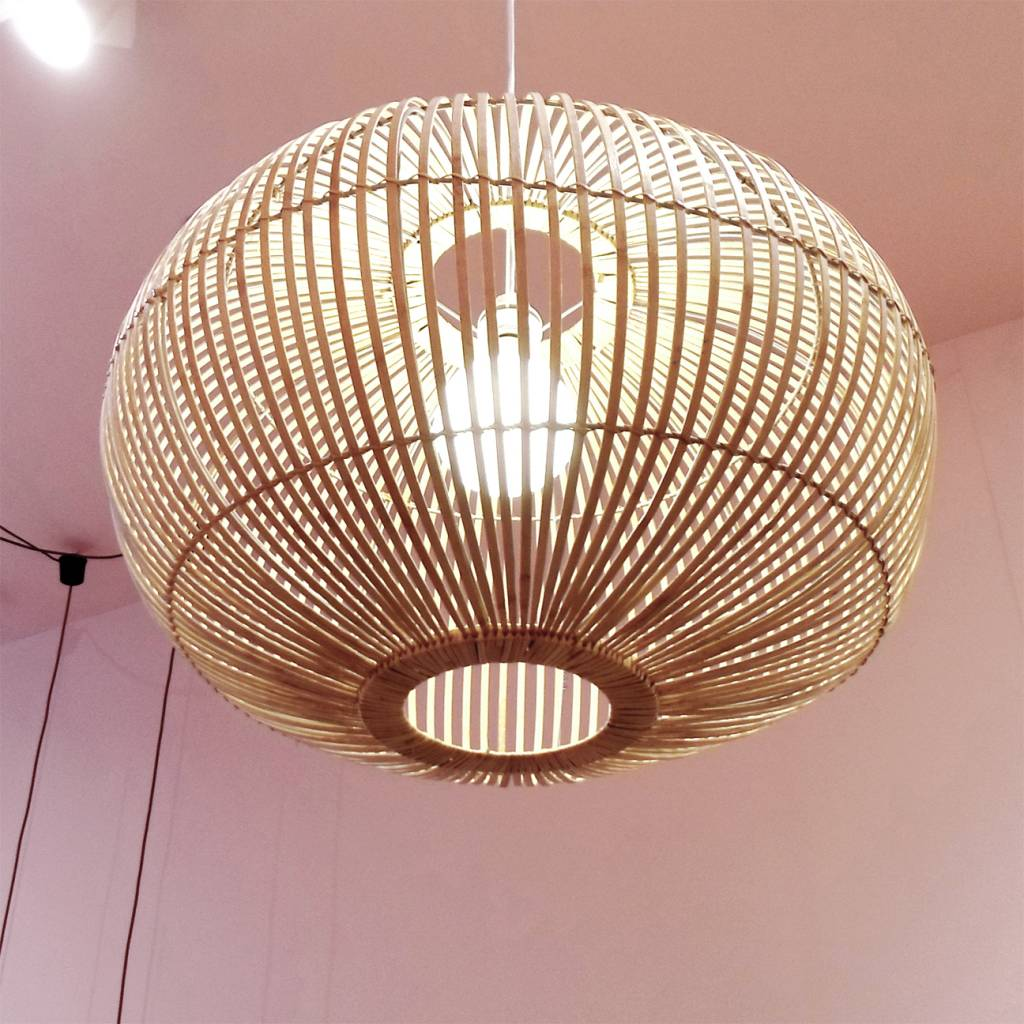 Bamboo Pendant Light Store Without A Home