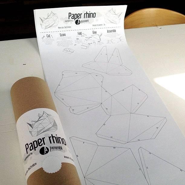 Papieren beer / Wit