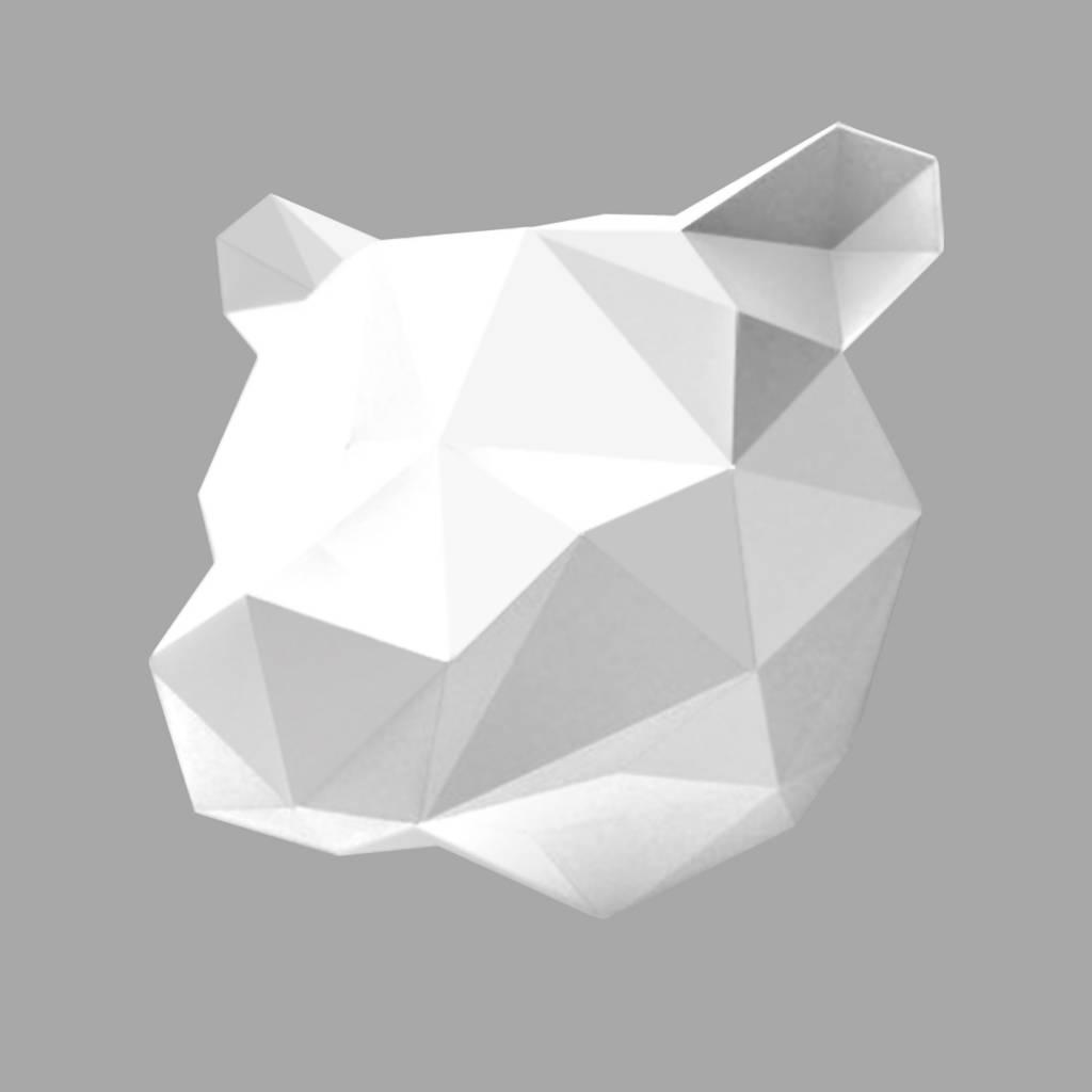 Paper Bear / White