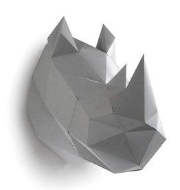 Paper Kit / Neushoorn / Grijs