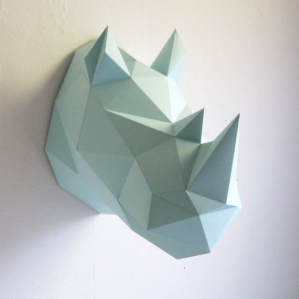 Paper Animal Heads Store Without A Home