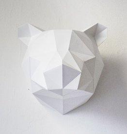 Paper Kit / Bear / White