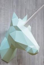 Papieren Eenhoorn & Paard / Mint