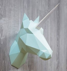 Paper Unicorn & Horse / Mint