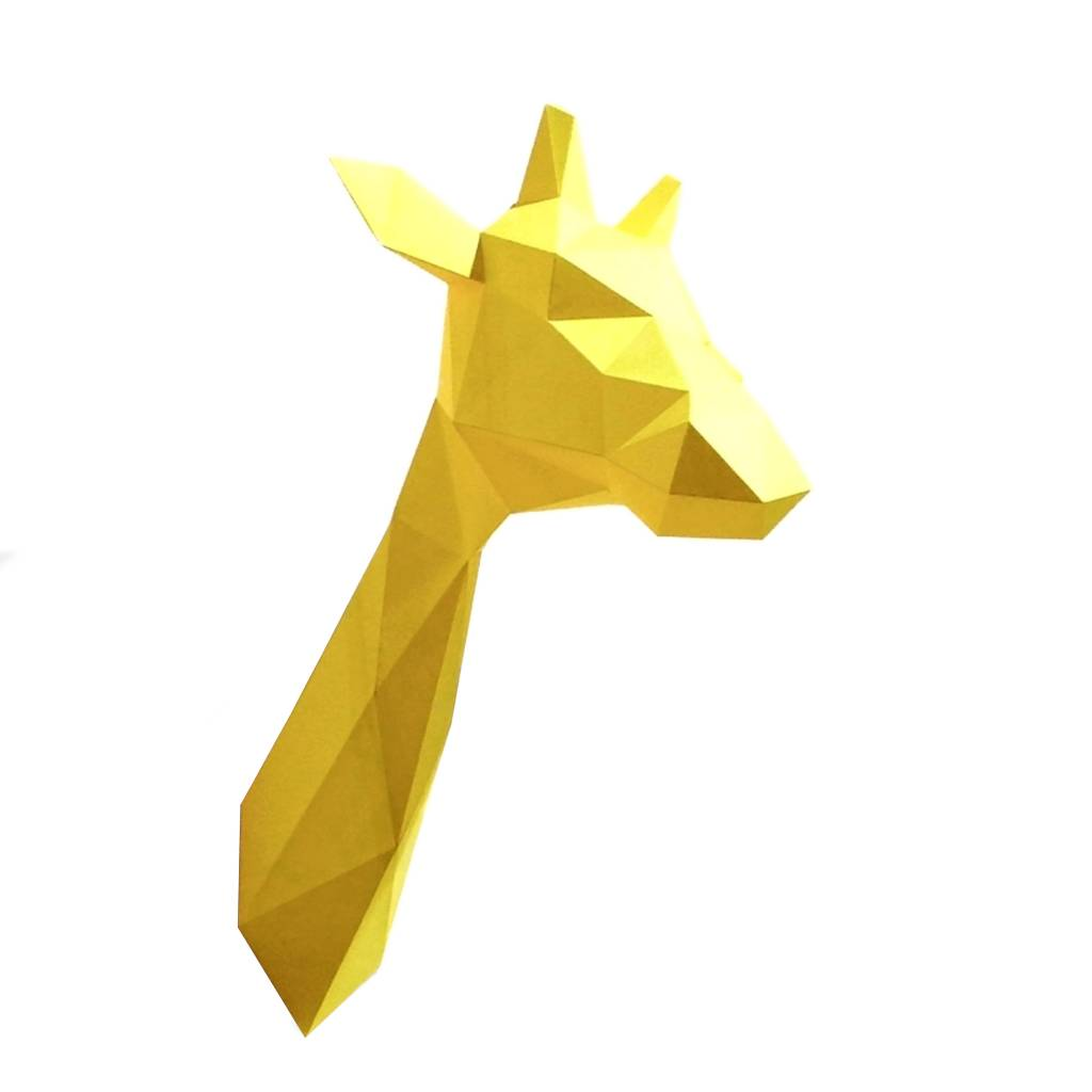 Home Decoration Online Store Paper Giraffe Head Store Without A Home