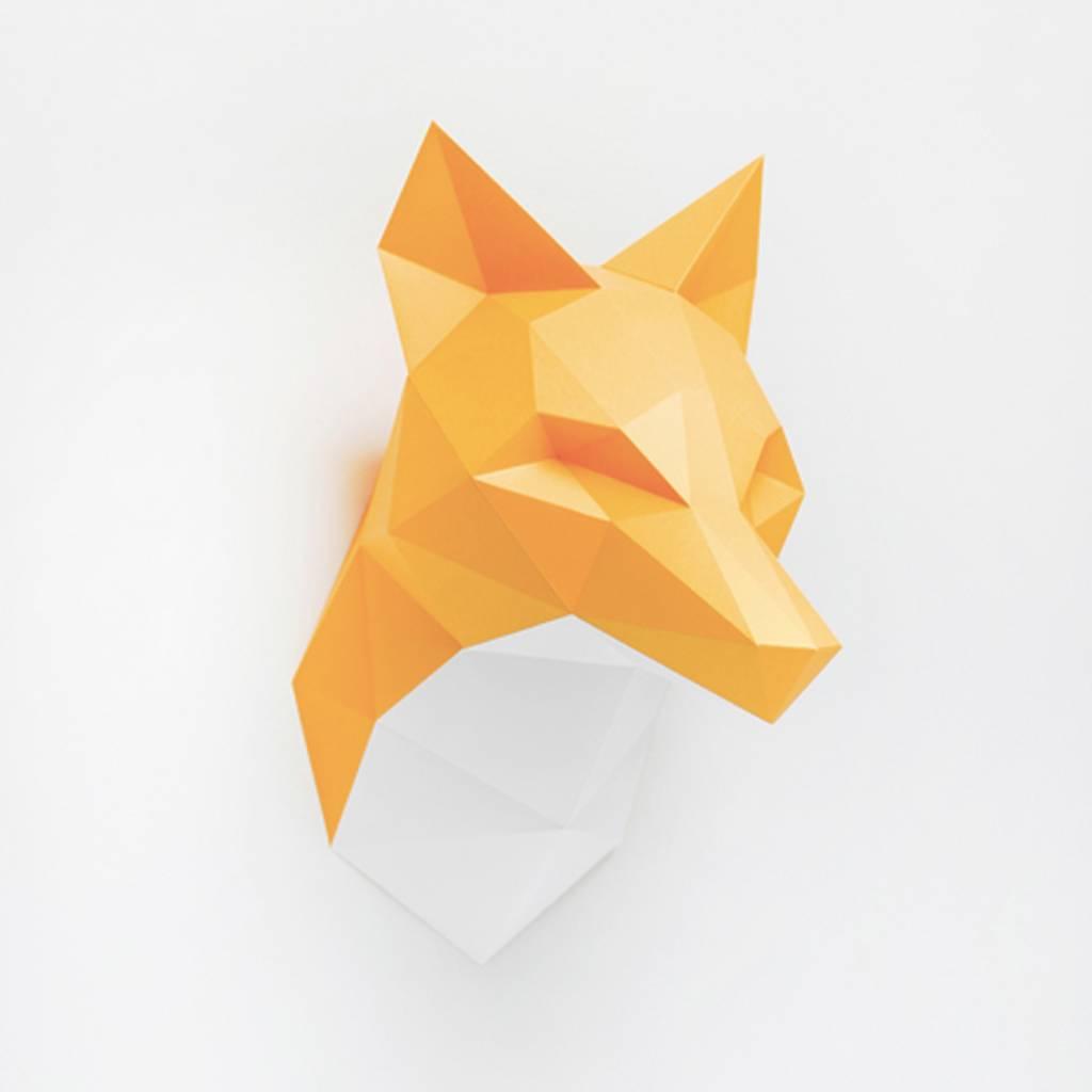 Paper Kit / Fox / Orange