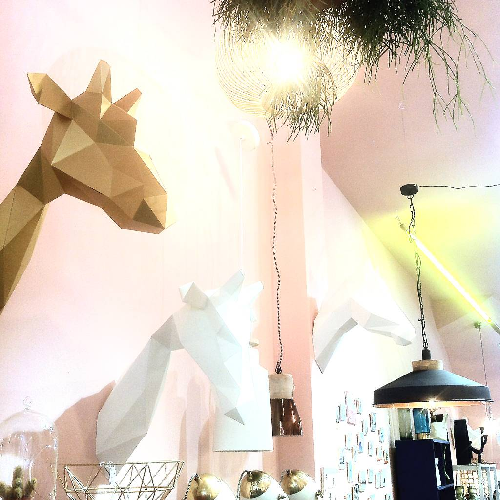 Paper Kit / Giraffe / Goud