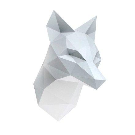 Paper Kit / Fox / Grey