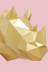Paper Kit / Rhino / Gold
