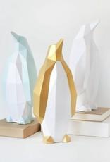 Papieren Pinguïn / Goud