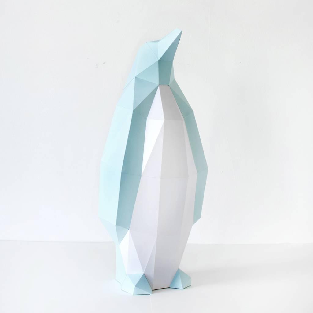 Papieren Pinguïn / Mint