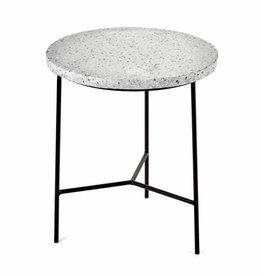 Side Table / Terrazzo / Grey