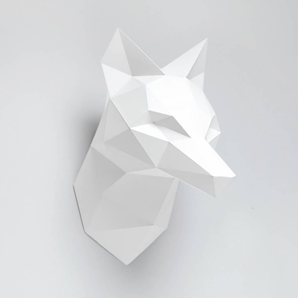 Paper Kit / Fox / White