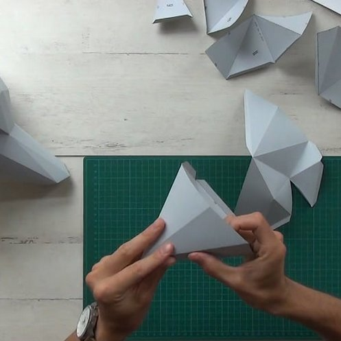 Paper Kit / Vos / Goud