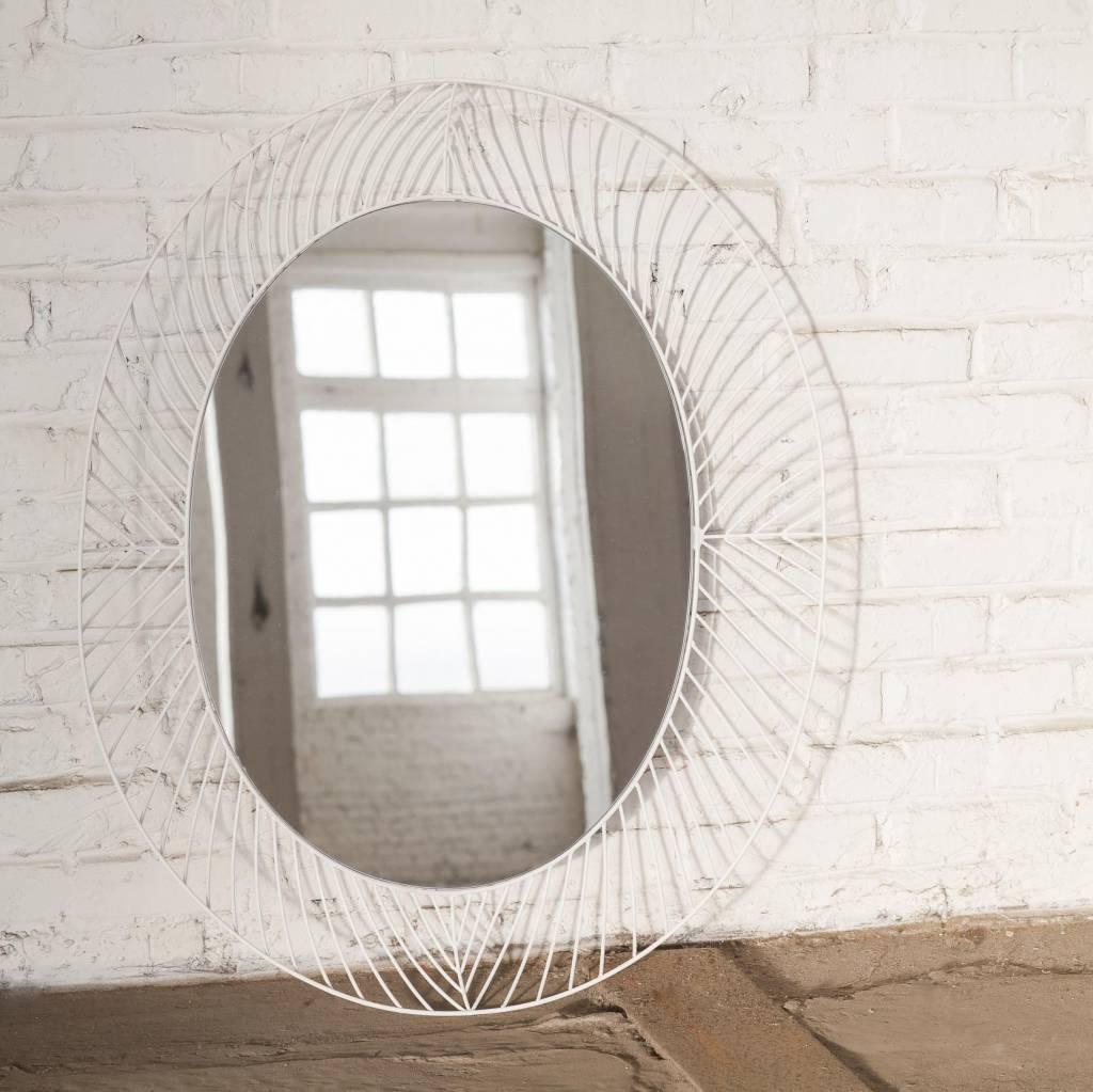 Mirror / Colonel / Oval / White