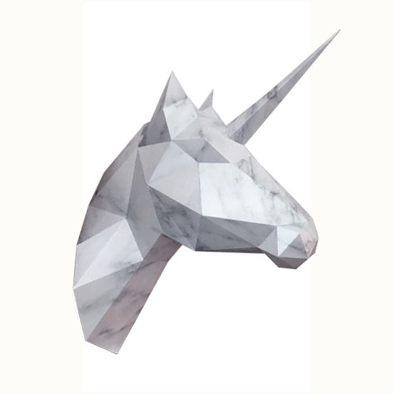 Unicorn or Horse / Marble