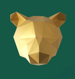 Paper Kit / Bear / Gold