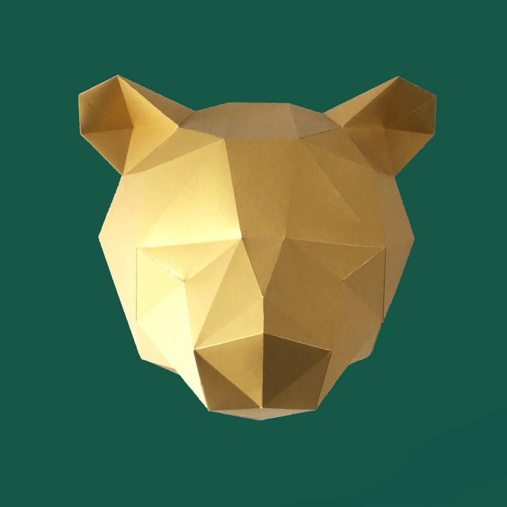 Paper Kit / Bear / Gold