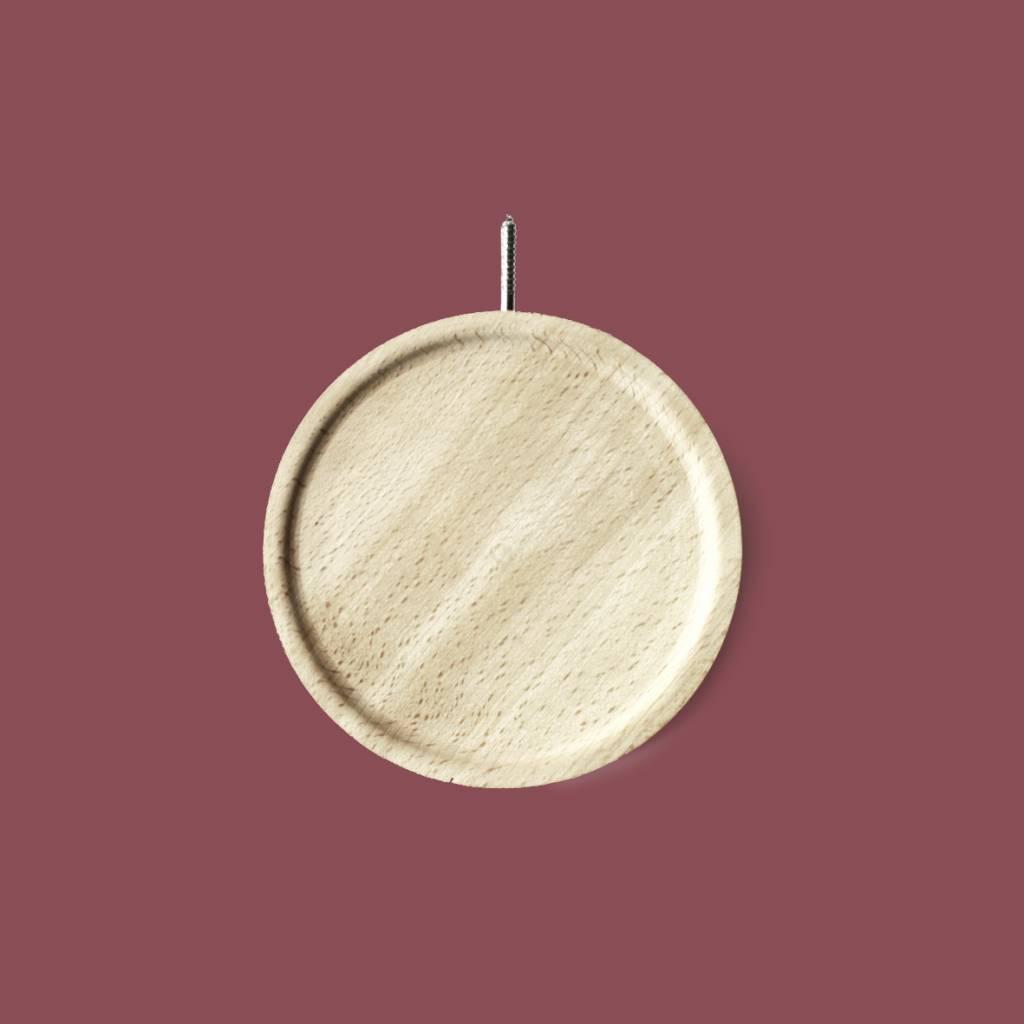 Rond wandplankje / Disc