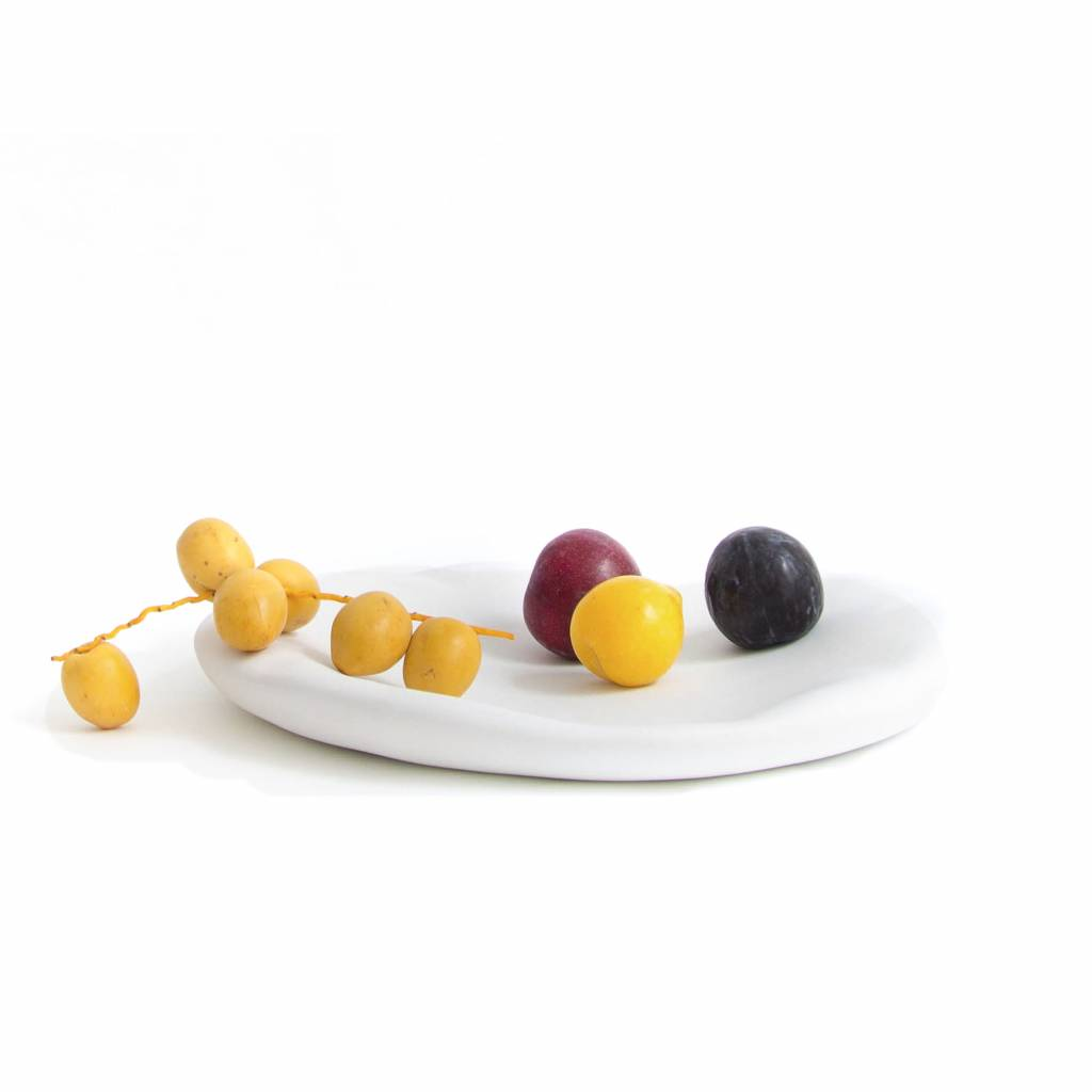Fruitschaal / Canova / Wit