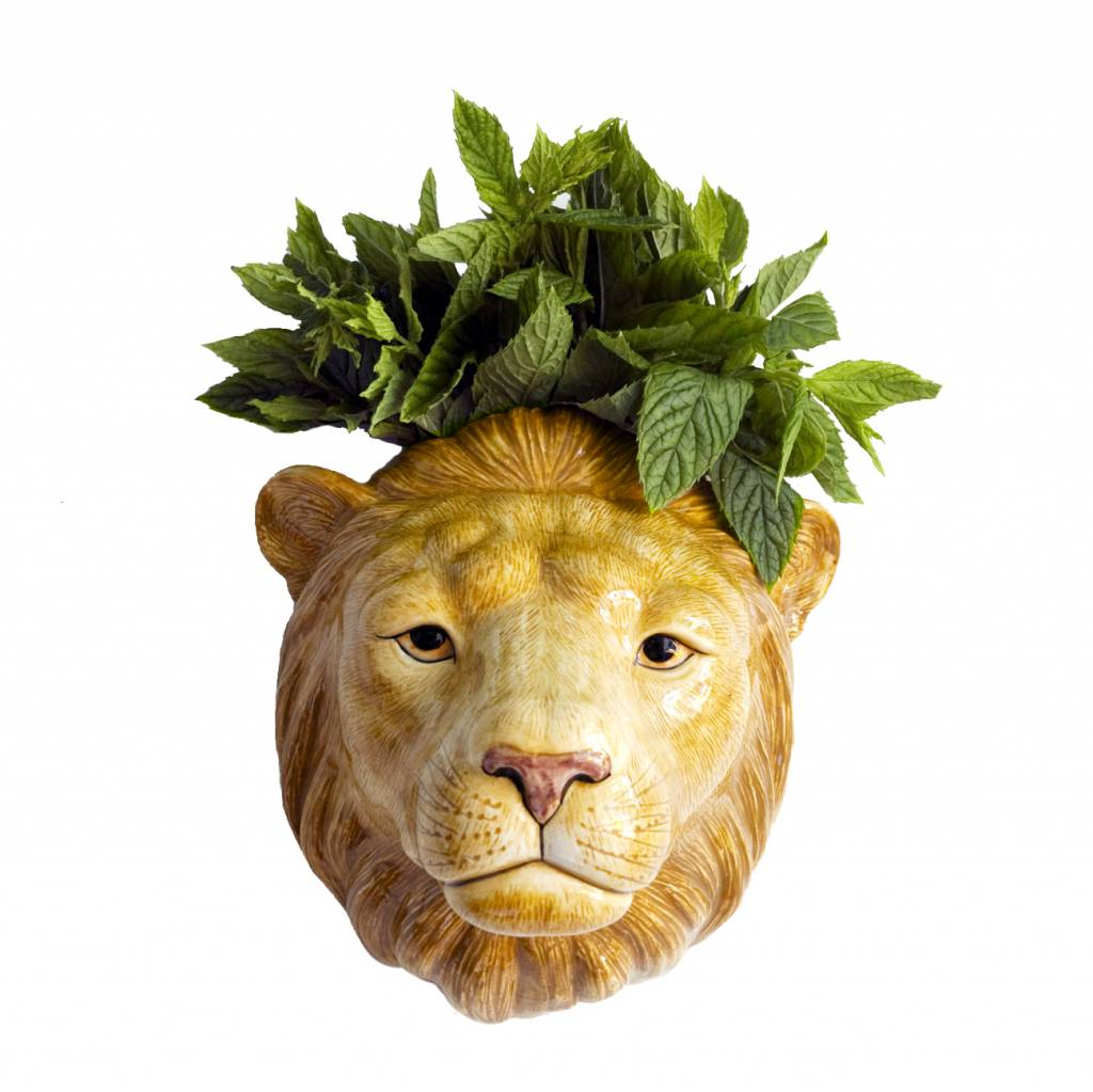 Wall Vase / Lion