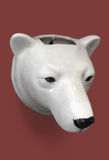 Wall Vase / Polar Bear