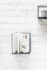 Metal wall shelf / Black / L