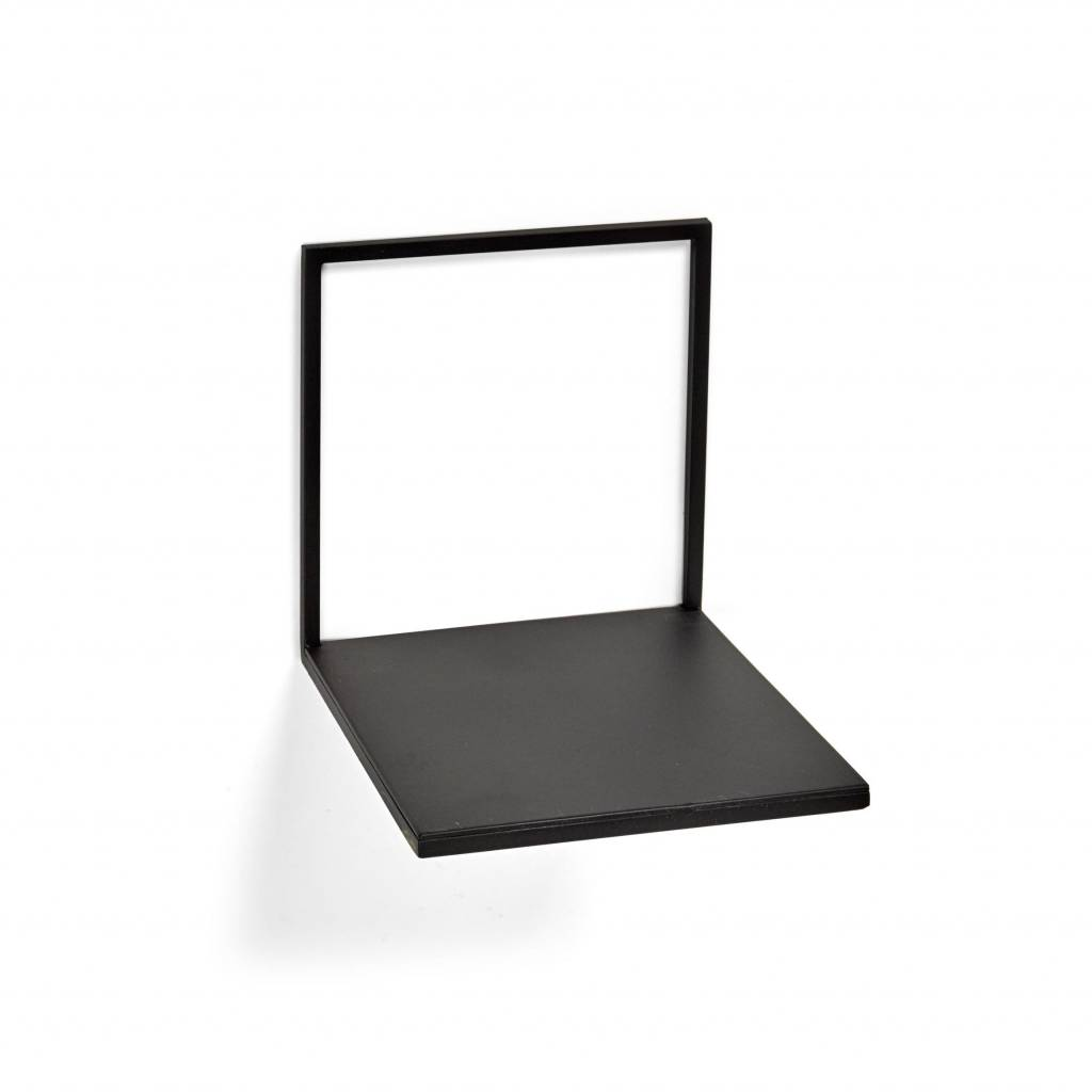 Metal wall shelf/ Black / S