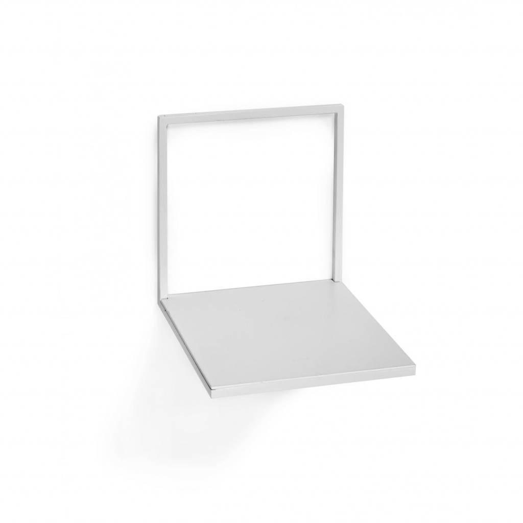 Metal wall shelve / White / S