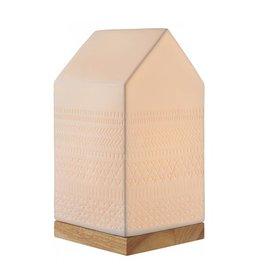 Porseleinen Lamp / Huis