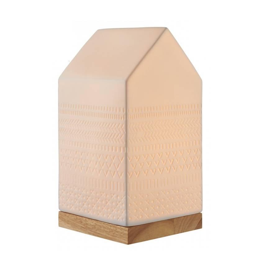 Porcelain Lamp / House